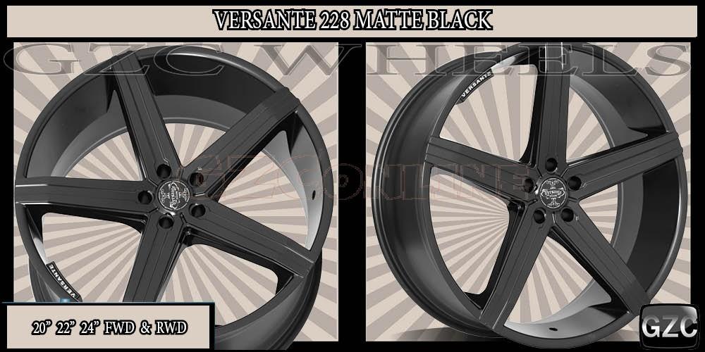 Black Versante Wheels 228 Images