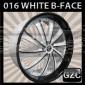 WHITE DIAMOND 0016 22X9.5 5X115 ET+15 CB 73.1 WHITE BLACK FACE