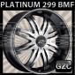 PLATINUM 299 22X8.5 5x115/120 ET+43 BMF