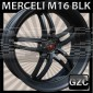 MERCELI M16 22X8.5 5x114.3 ET+32 CB 74 MATTE BLACK
