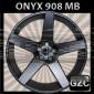 ONYX 908 26X10 BLANK (5LUG) ET+15 CB 87.1 MATTE BLACK (BIG CAP)