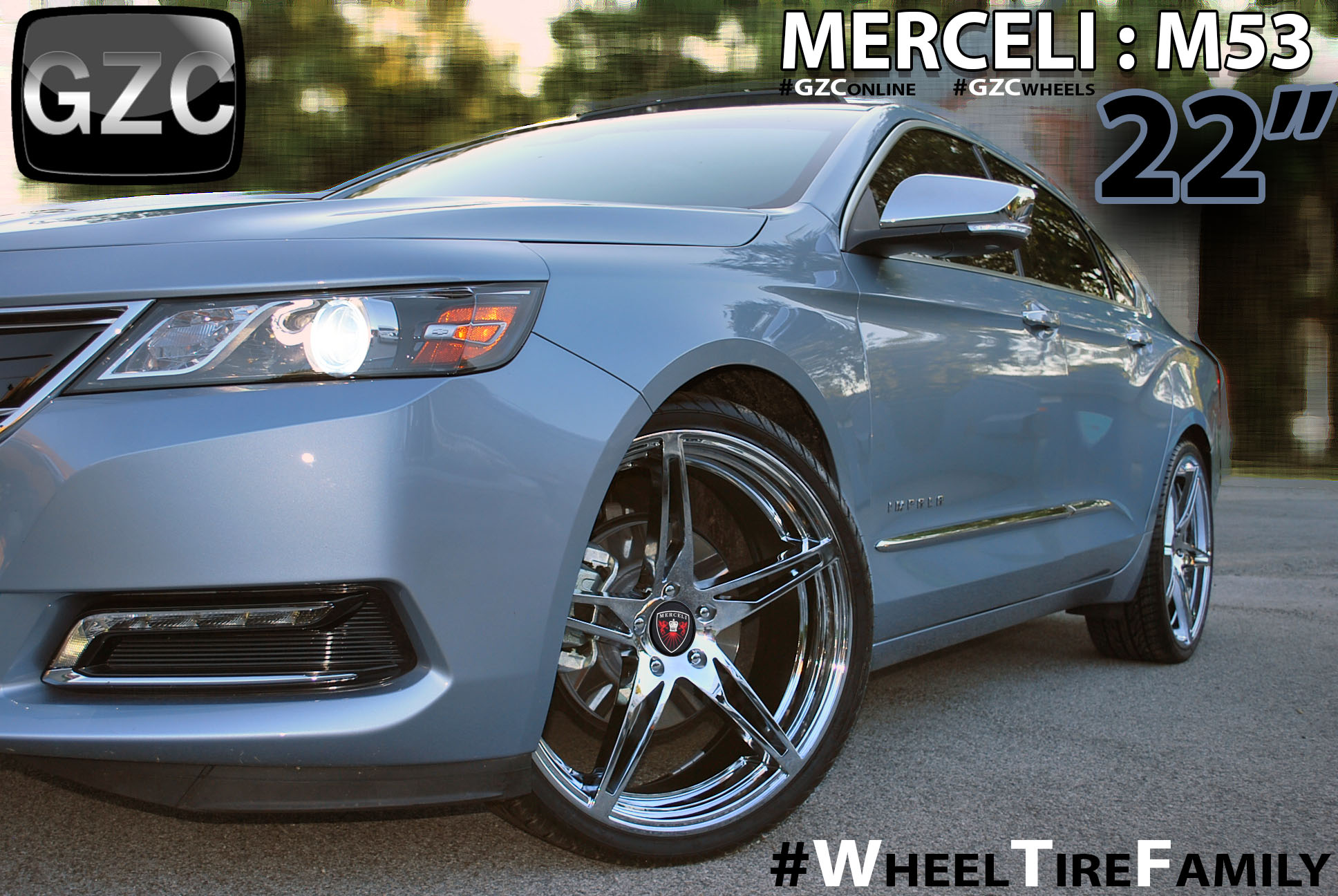 Merceli Chrome Wheels